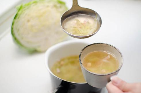 塩もみした泉州キャベツがあまった!そんな時にはスープにしてほっこり